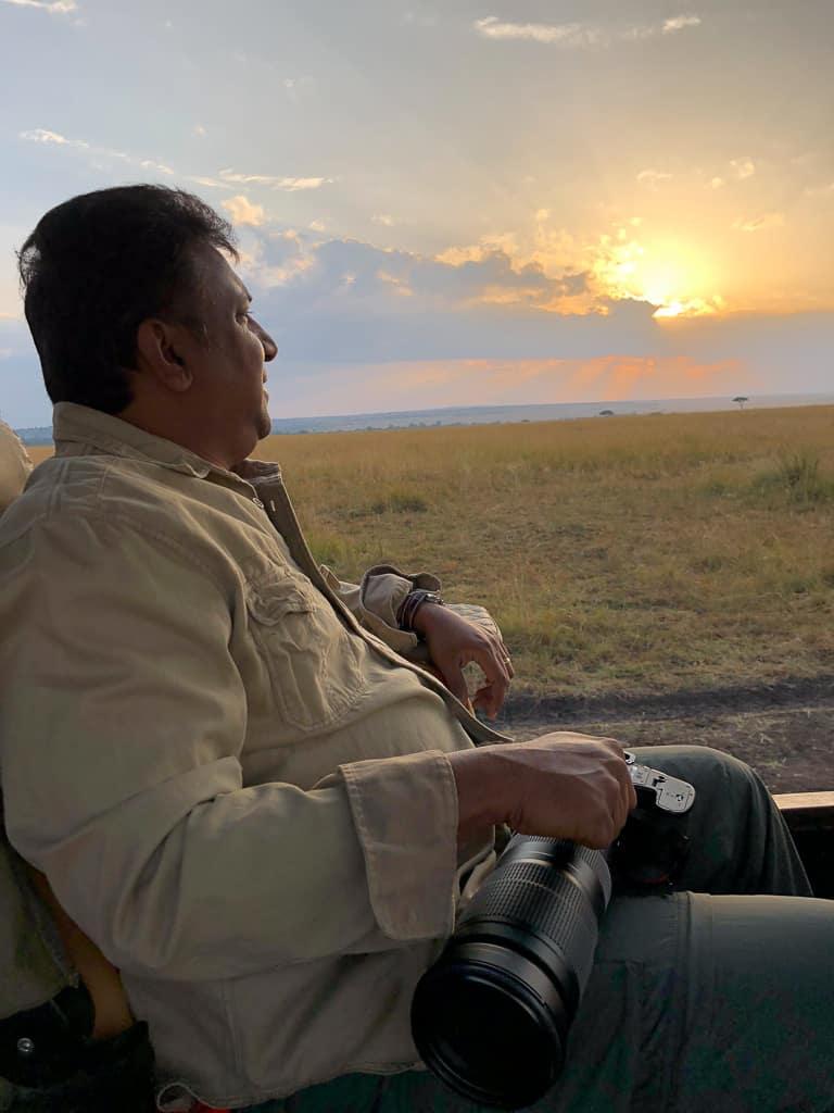 Morning game drives in the Mara - Luxury Family Safari Experience at Angama Mara, Kenya Photo by Outside Suburbia
