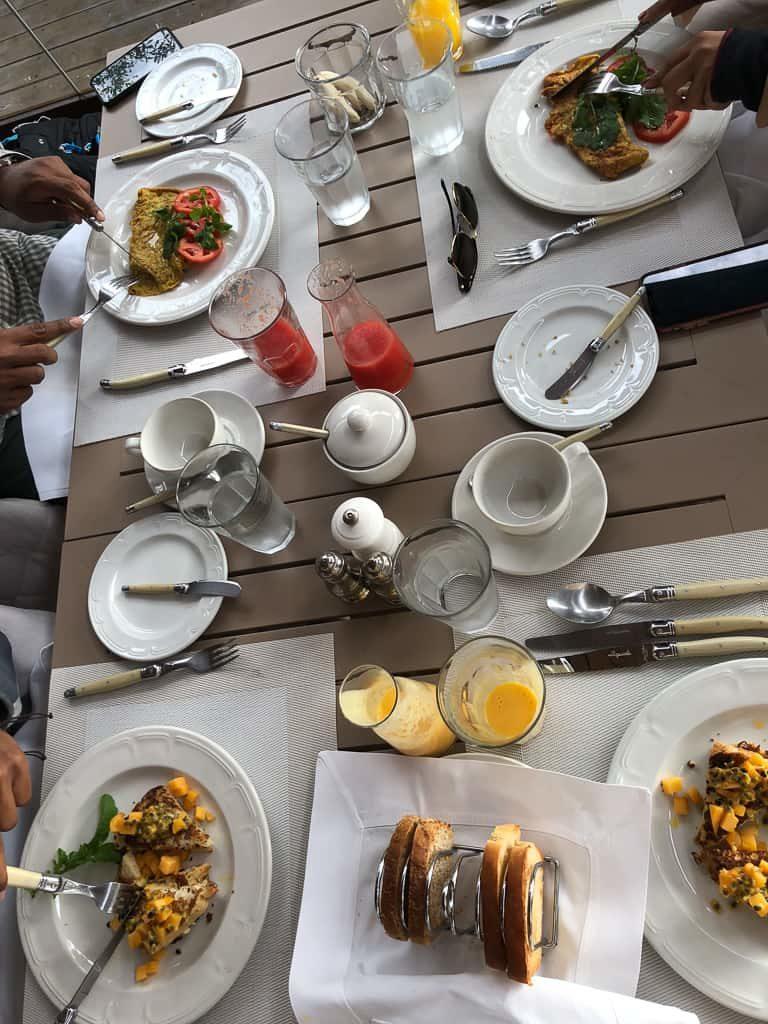 Breakfast - Luxury Family Safari Experience at Angama Mara, Kenya Photo by Outside Suburbia