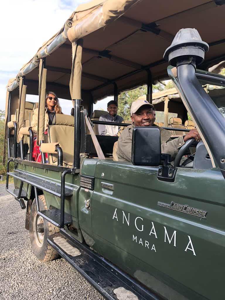 Safari with Wilson - Luxury Family Safari Experience at Angama Mara, Kenya Photo by Outside Suburbia