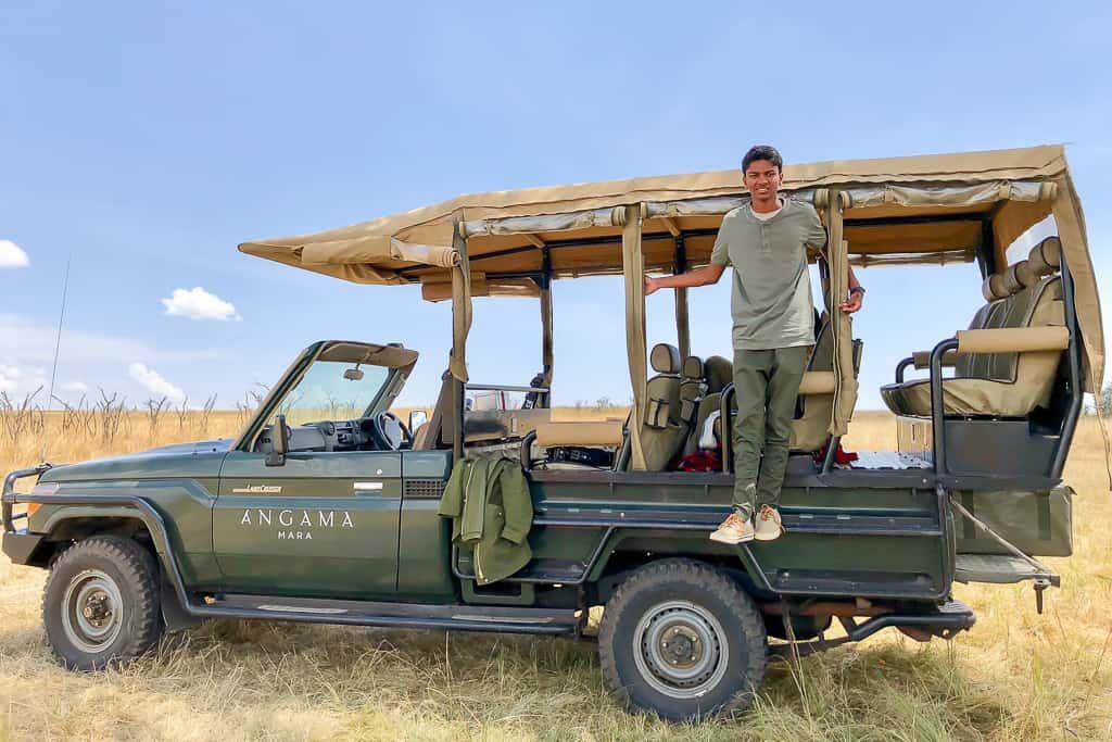 Safari in Masai Mara - Luxury Family Safari Experience at Angama Mara, Kenya Photo by Outside Suburbia