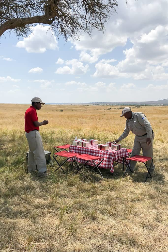 Picnic in the Mara - Luxury Family Safari Experience at Angama Mara, Kenya Photo by Outside Suburbia