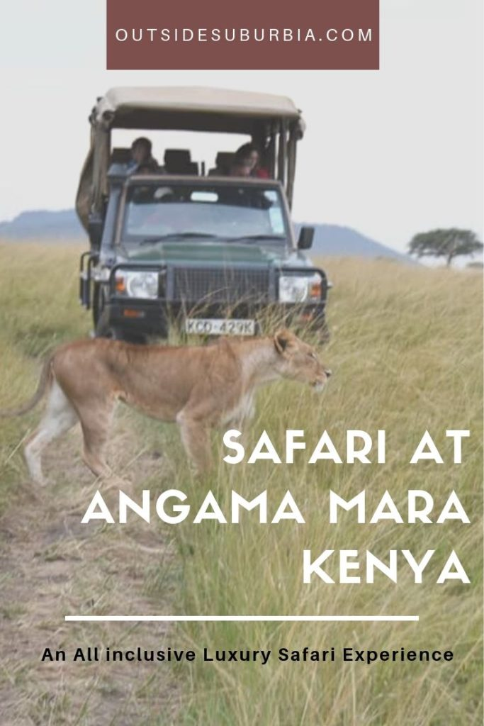 Perfect for the first time Safari goers and ideal for luxury lovers, here is a look at the All Inclusive and Exculsive Luxury Family Safari at Angama Mara in Kenya