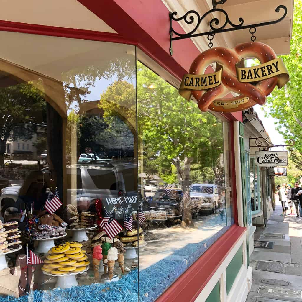 Carmel Bakery - Outside Suburbia's family-friendly guide to a weekend in Carmel by the Sea, California