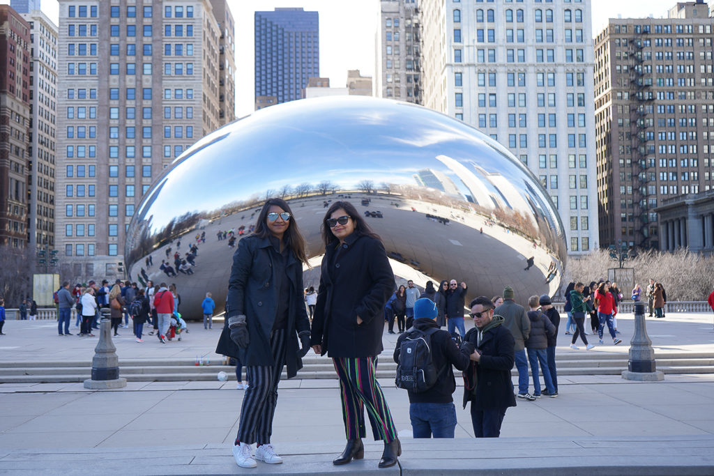 The Bean! Things to do in Chicago on a girls' weekend - Outside Suburbia