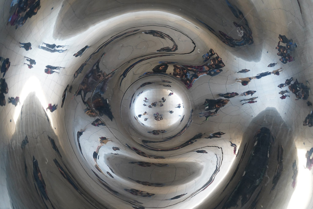 Cloud Gate Refelctions - Things to do in Chicago on a girls' weekend - Outside Suburbia