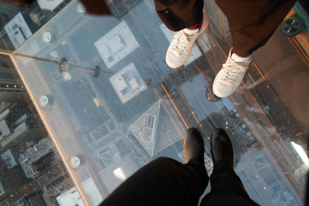 Conquer your fear of heights - Things to do in Chicago on a girls' weekend - Outside Suburbia