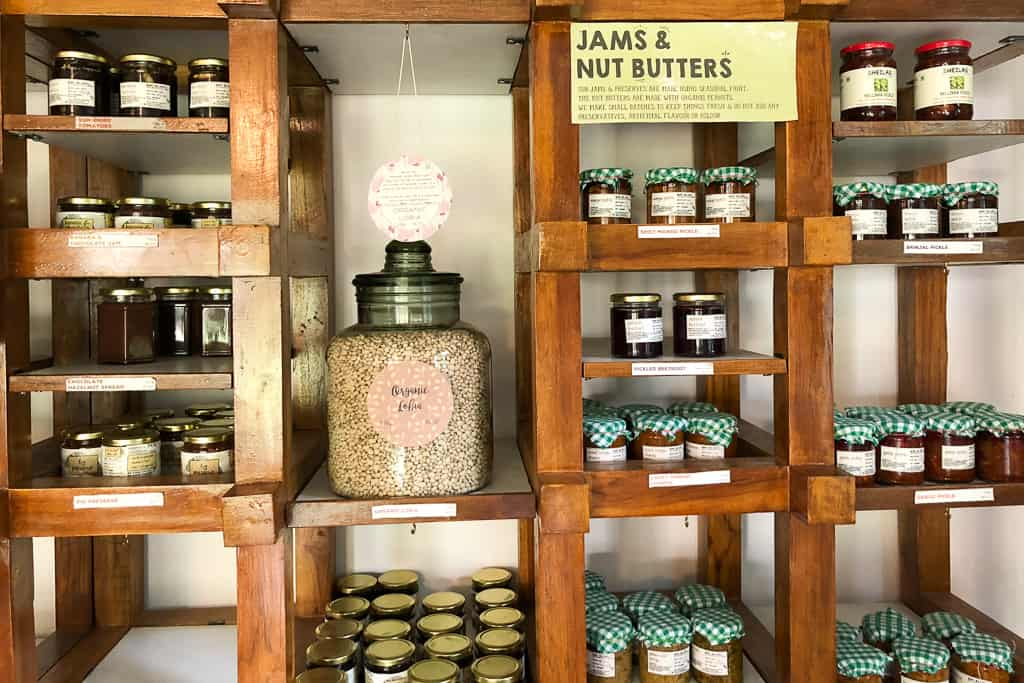 Jams and nut butters at The Shop at The Farm Chennai, Semmancheri - Photo by Outside Suburbia