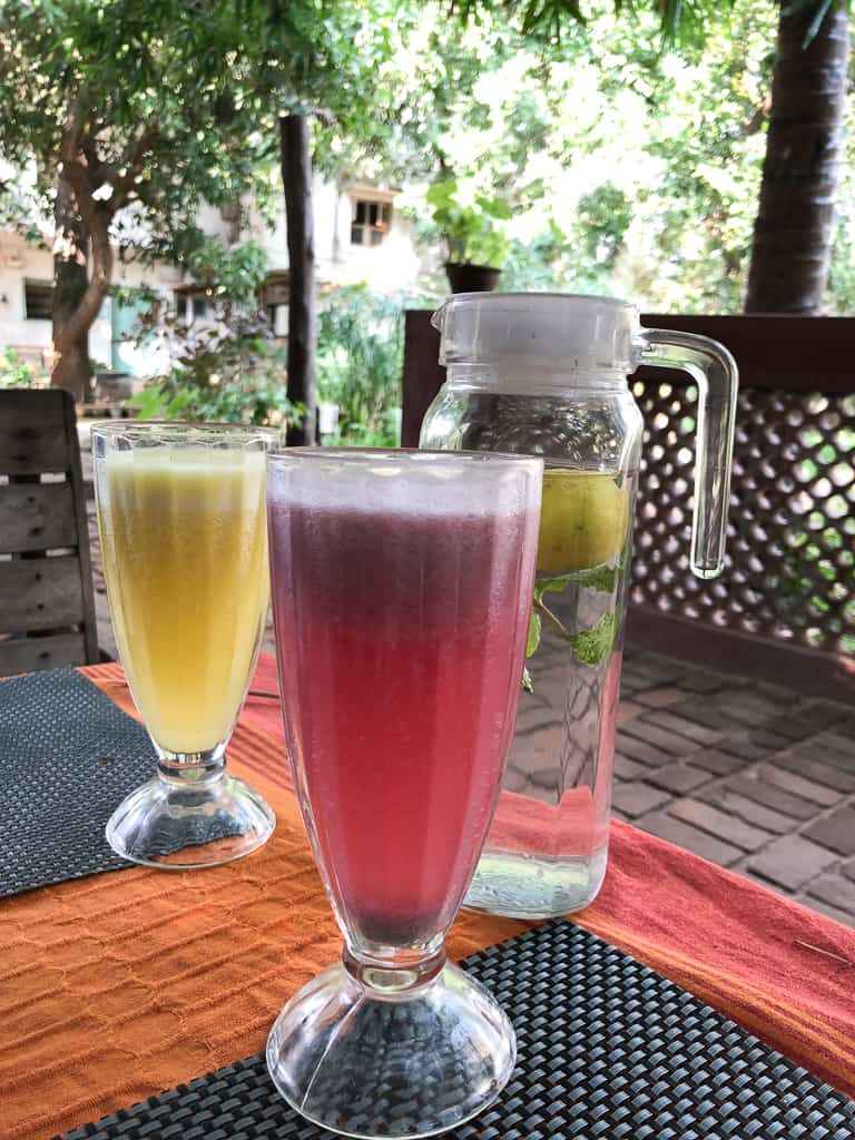 Breakfast at The Farm Chennai