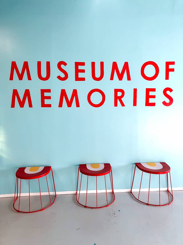 Museum of Memories Popup Dallas - Photo by Priya Vin from Outside Suburbia