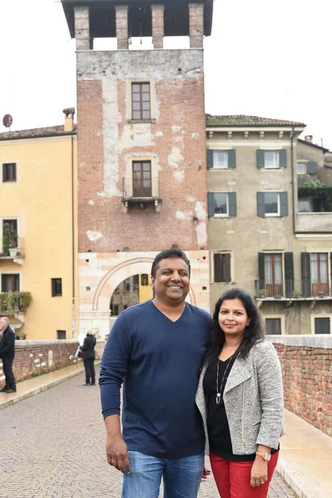 Stone bridge, Verona, Italy - Photo by OutsideSuburbia.com