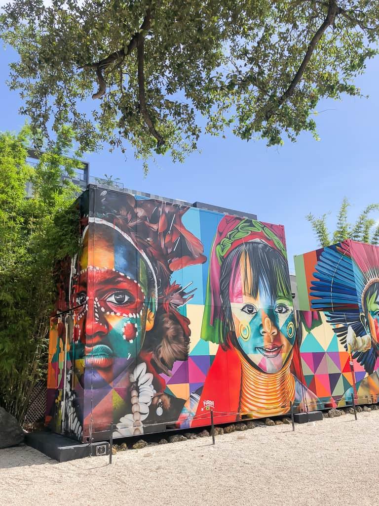 Wynwood Walls, Miami - Photo by Priya Vin Outside Suburbia