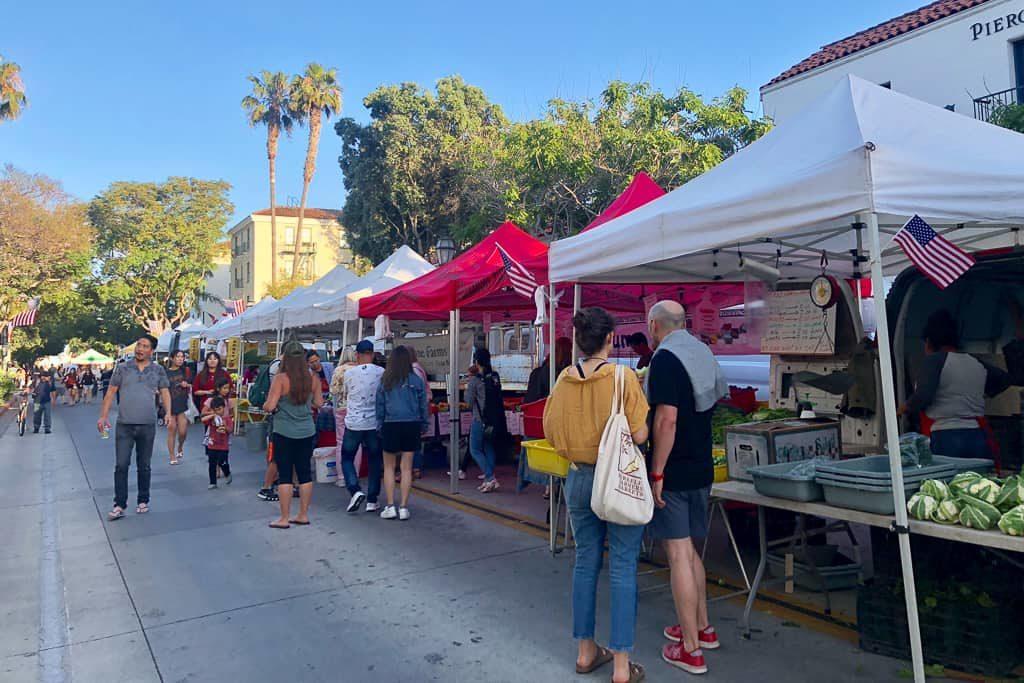 Farmers Market, Santa Barbara, California