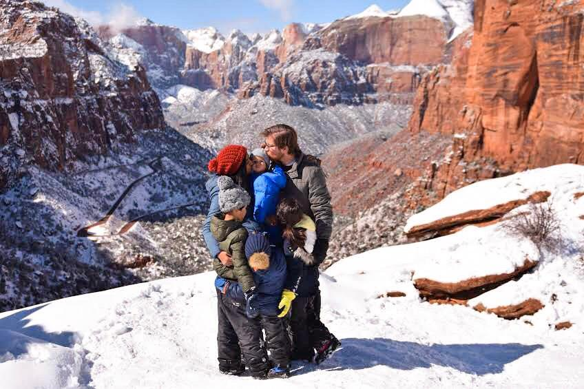 Short & Easy Hikes in Zion National Park, Utah - Best US National Parks for families - OutsideSuburbia.com