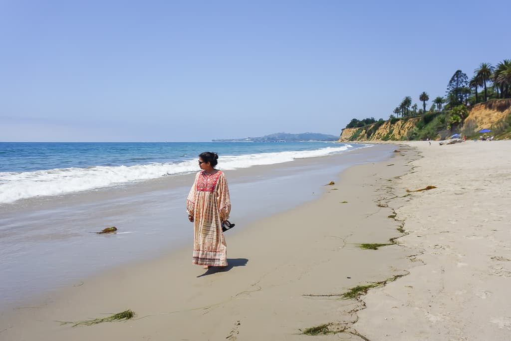 Butterfly Beach, Santa Barbara - Photo by Outside Suburbia