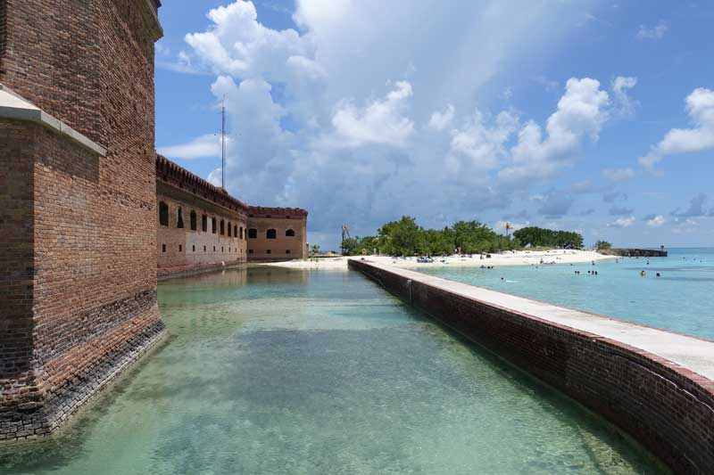 Short & Easy Hike in Dry Tortugas National Park, Florida