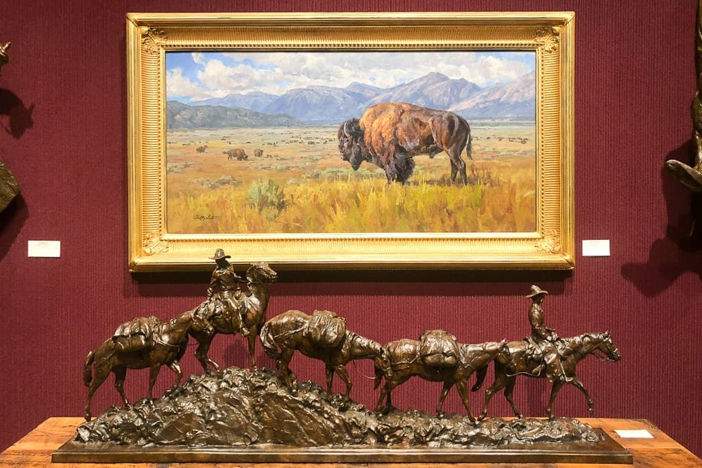 Visit the art Galleries- Things to do in Jackson Hole, Wyoming in Summer and Fall - OutsideSuburbia.com