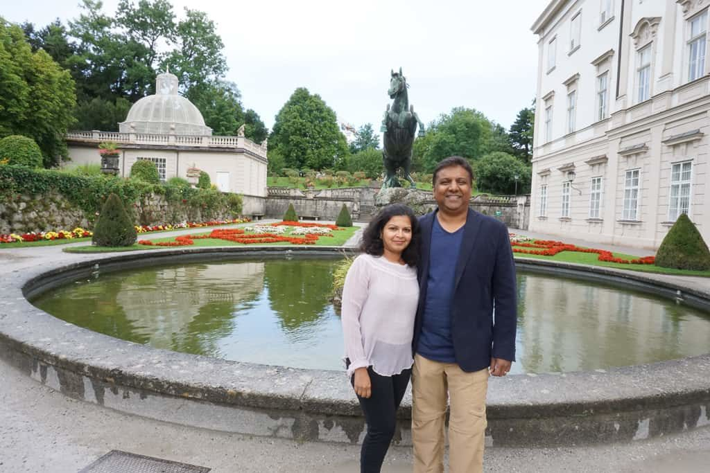 Sound of Music - Mirabell Palace and Gardens, One day in Salzburg Itinerary - OutsideSuburbia.com