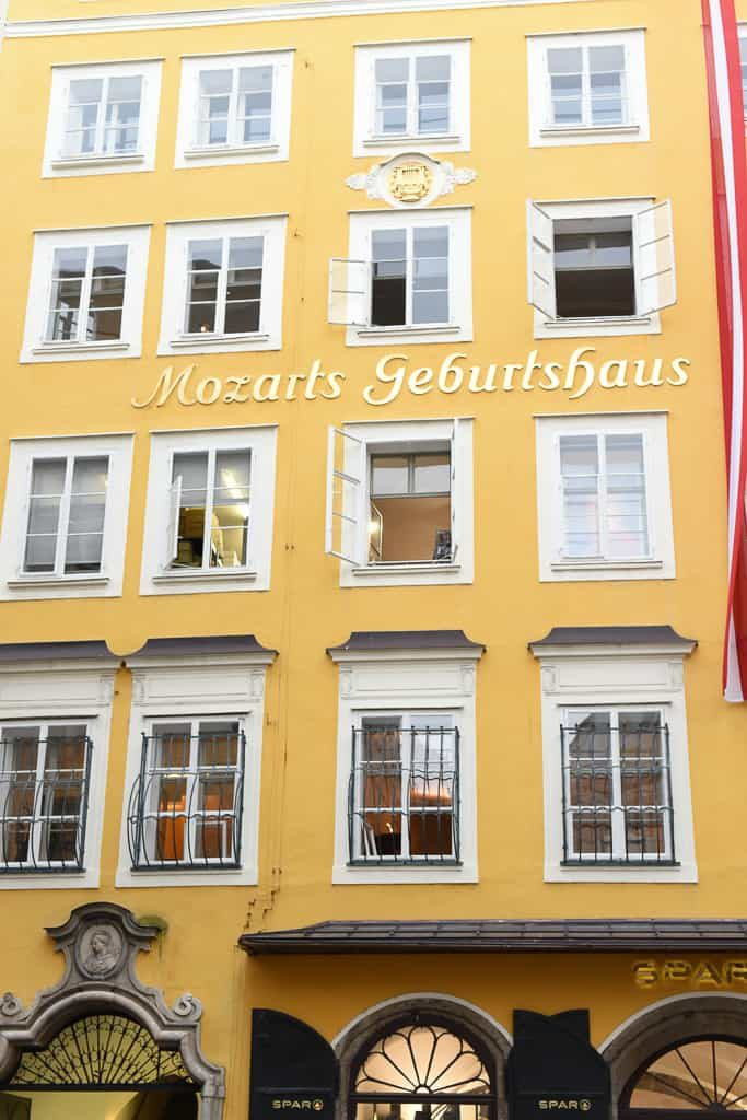 Mozart's Birthplace - One day in Salzburg Itinerary - OutsideSuburbia.com