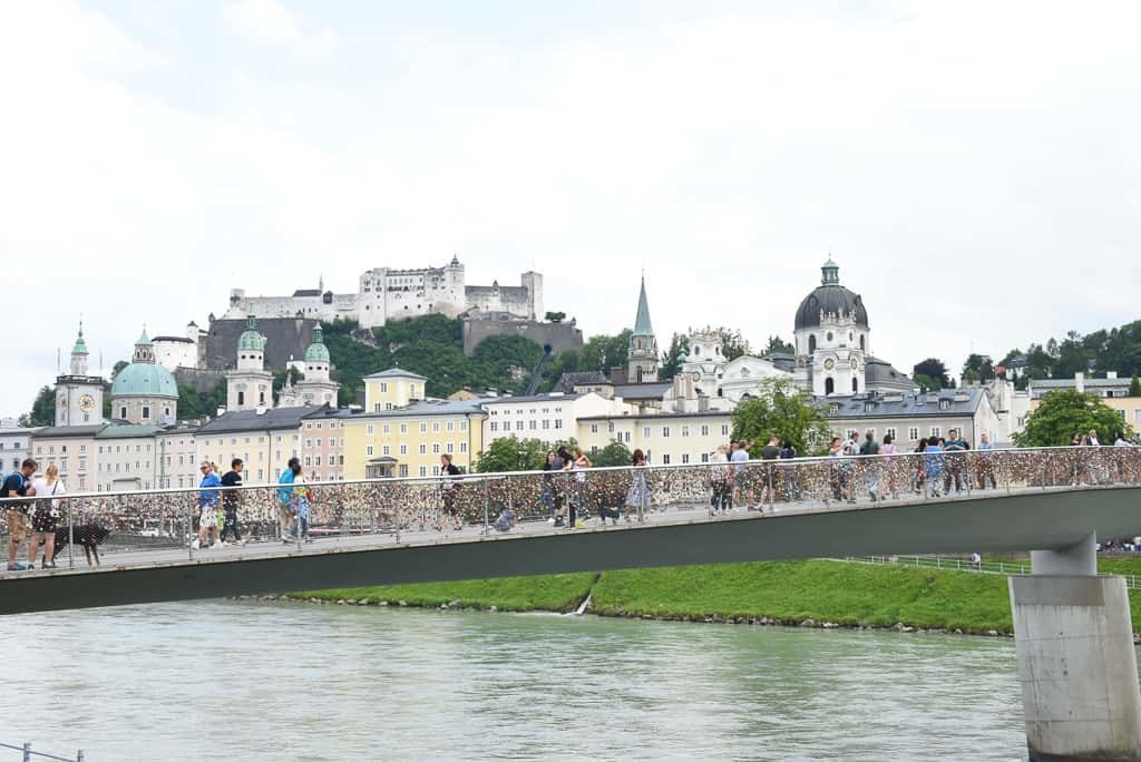 Makartsteg Bridge, Salzburg, Austria