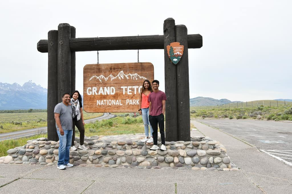 Grand Teton Sign - Best photo spots in Jackson Hole, Wyoming | OutsideSuburbia.com