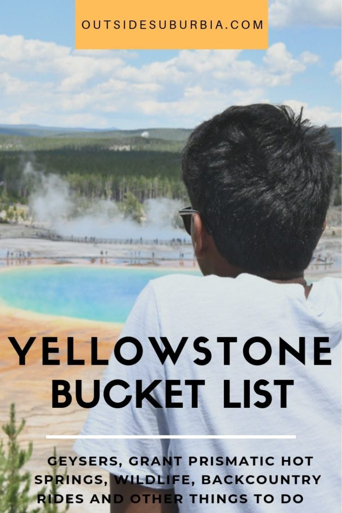 Best things to do and see in Yellowstone: Geysers, Waterfalls, Pretty Prismatic Hot Springs | Outside Suburbia