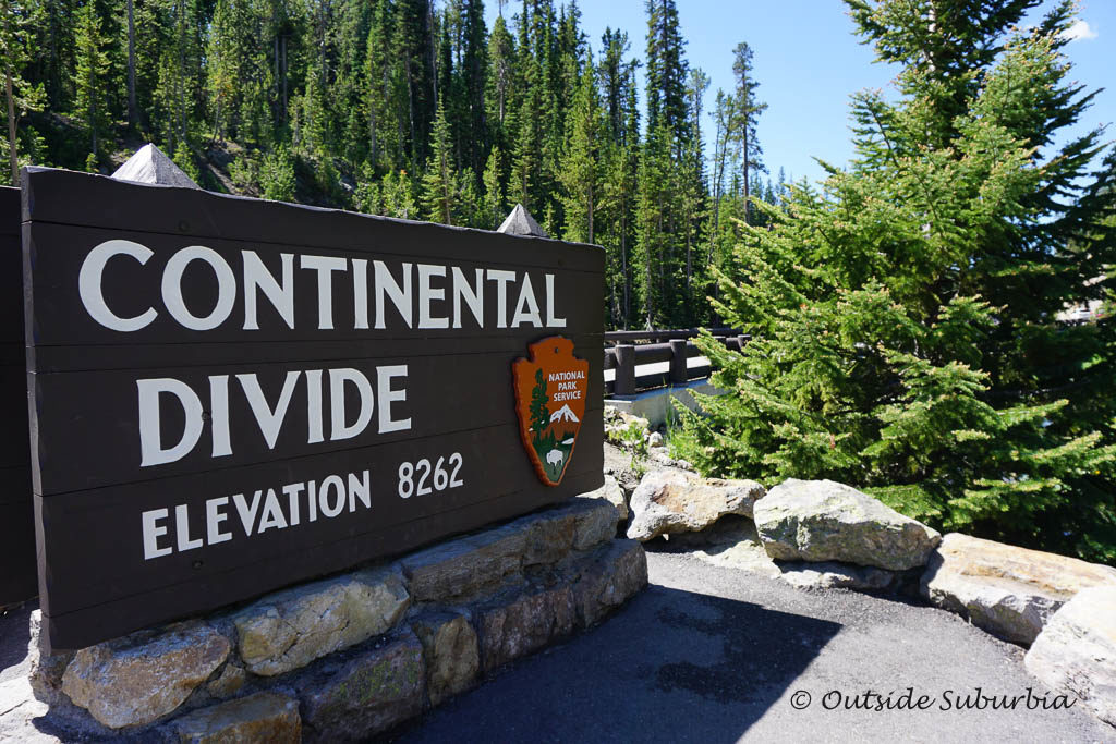 Continental Divide in Yellowstone -  OutsideSuburbia.com