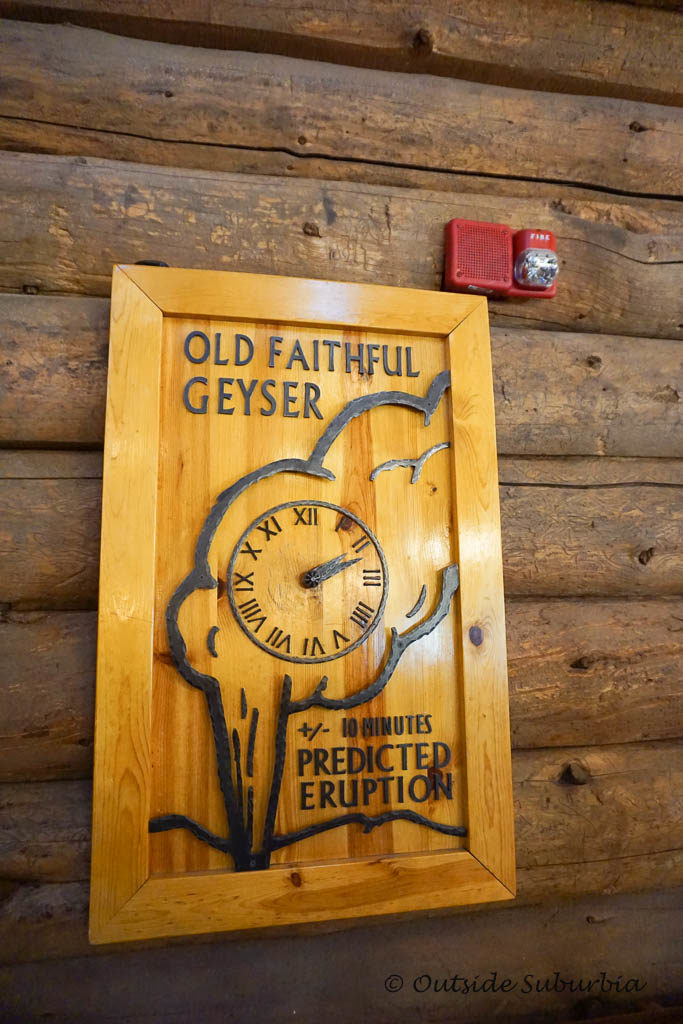 Old Faithful Inn - Geyser Predictor - OutsideSuburbia.com