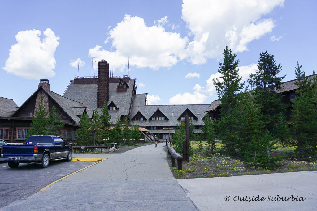 Old Faithful Inn in Yellowstone National Park - OutsideSuburbia.com