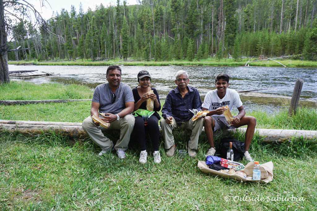 Best things to do in Yellowstone - Picnic by the water! OutsideSuburbia.com