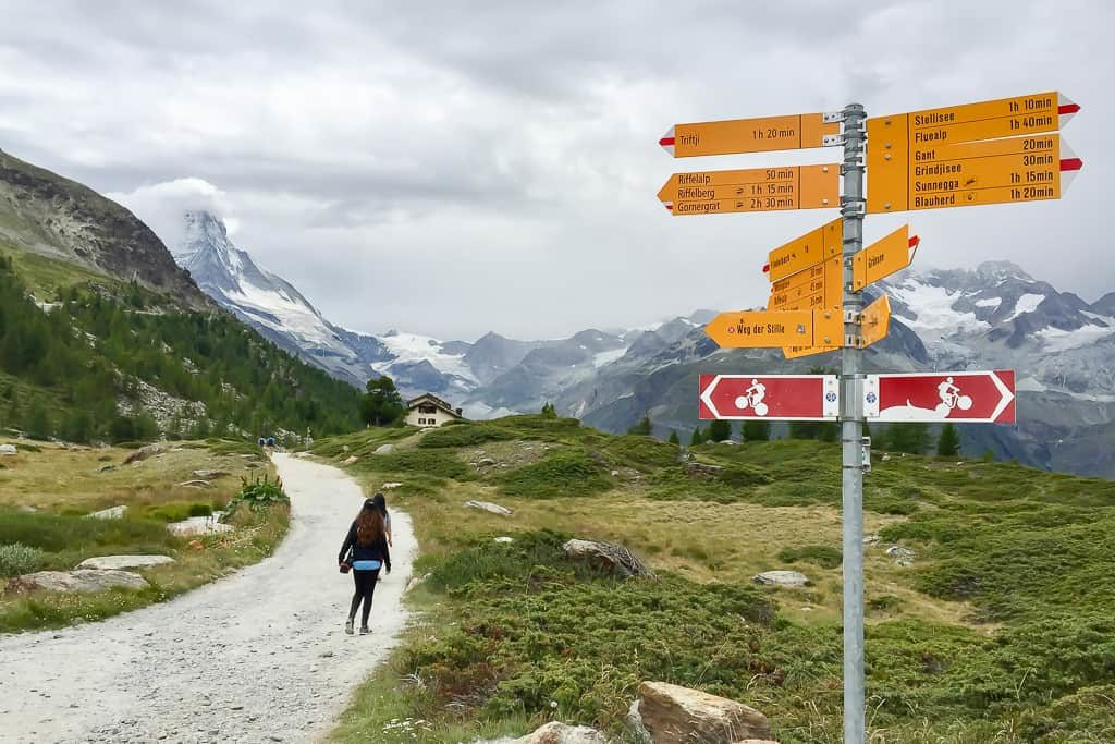 Five Lakes Trail, Zermatt, Matterhorn, Swotzerland - Outside Suburbia