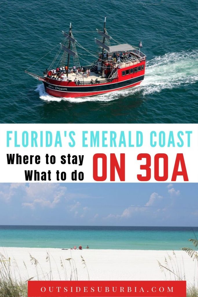 Best things to do on Florida's Emerald Coast | Outside Suburbia