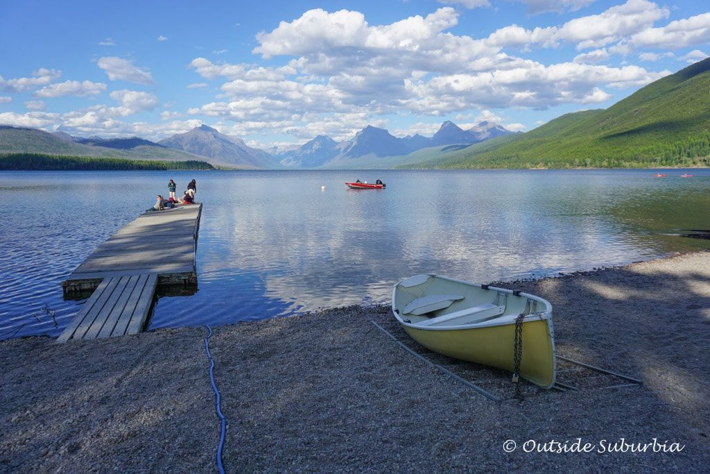 Lake McDonald in Glacier National Park - Outside Suburbia