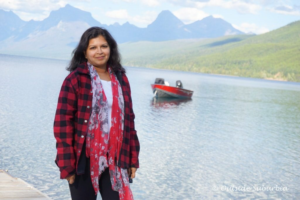 Lake McDonald in Glacier National Park - Priya Vin - Outside Suburbia
