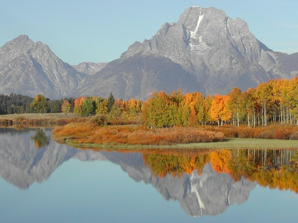 Fall colors in Grand Teton National Park at Oxbow Bend - OutsideSuburbia.com