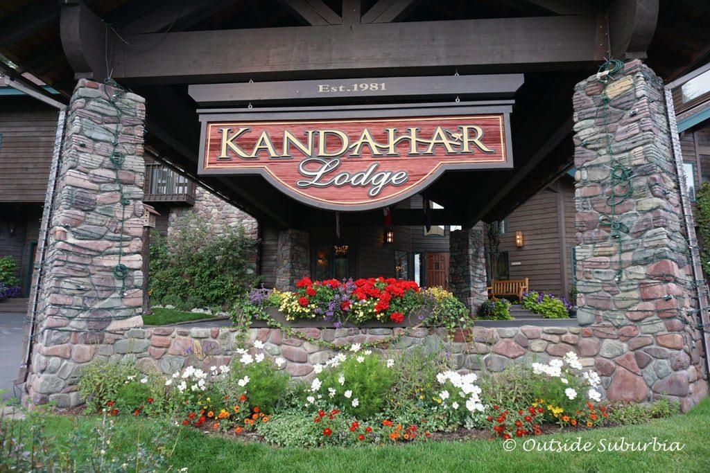 Lodge Kandahar in Whitefish, Montana  - Photo by Outside Suburbia
