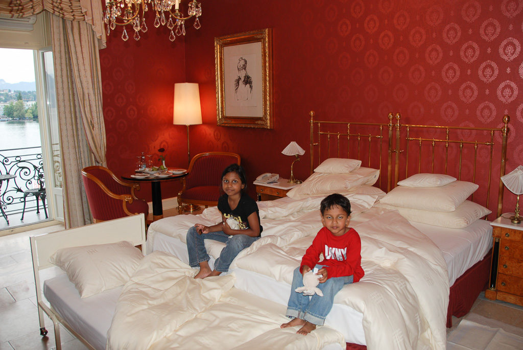 Grand Hotel National Luzern - What do kids look for in a luxury hotel?