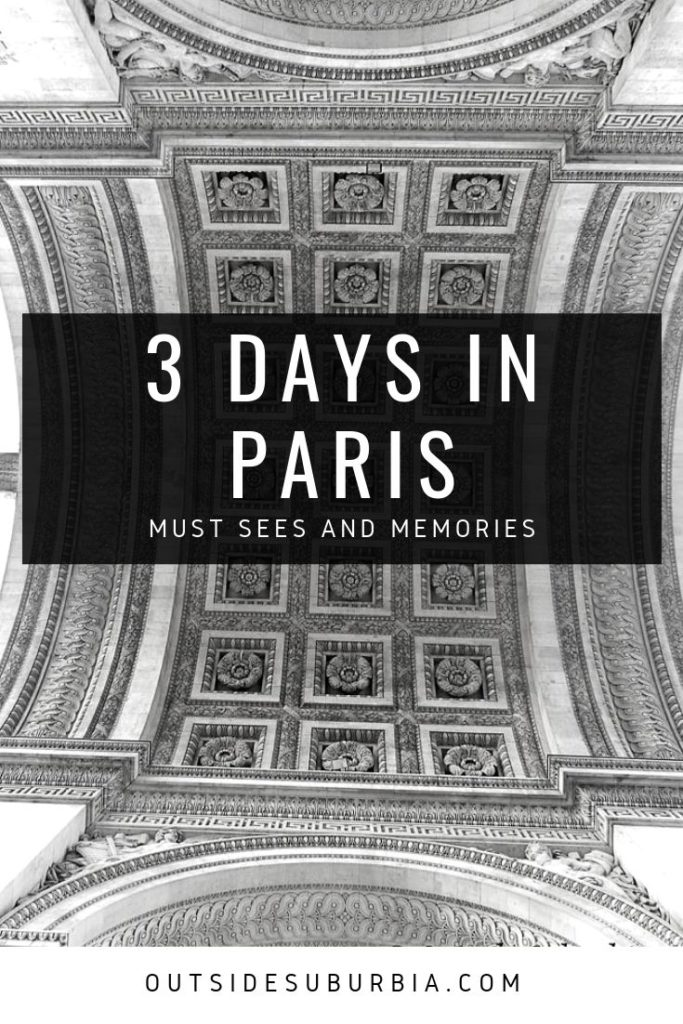 3 days in Paris | Outside Suburbia