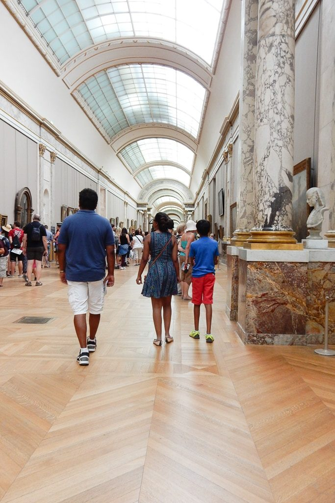 A private tour in Louvre. Must sees & Memories of our 3 days in Paris - OutsideSuburbia.com