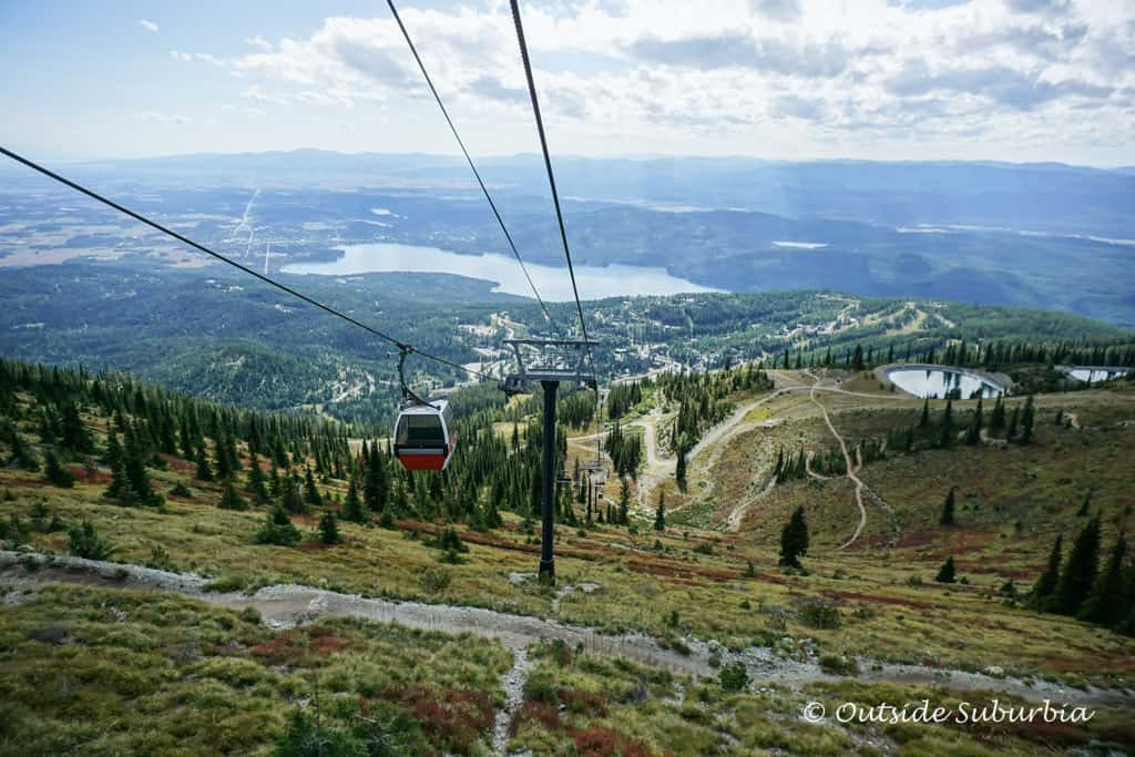Gondola on Whitefish Mountain Resort