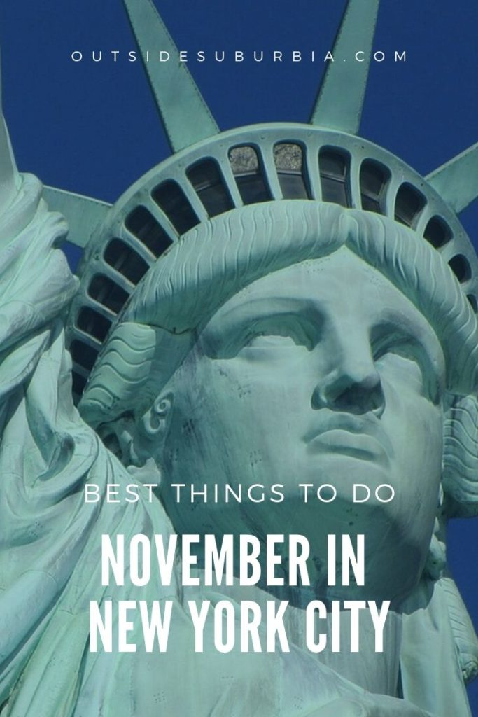 Fall colors & November in New York City | Outside Suburbia