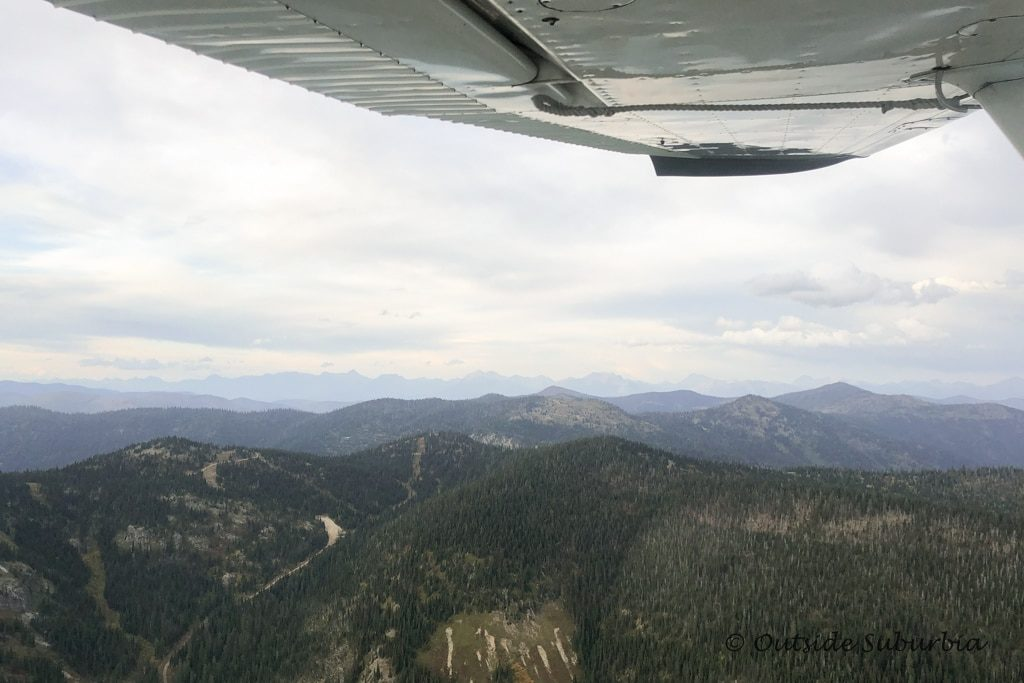 Glacier Backcountry Flying in Whitefish Montana - Outside Suburbia