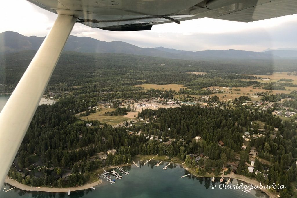 Glacier Backcountry Flying in Whitefish Montana - OutsideSuburbia.com