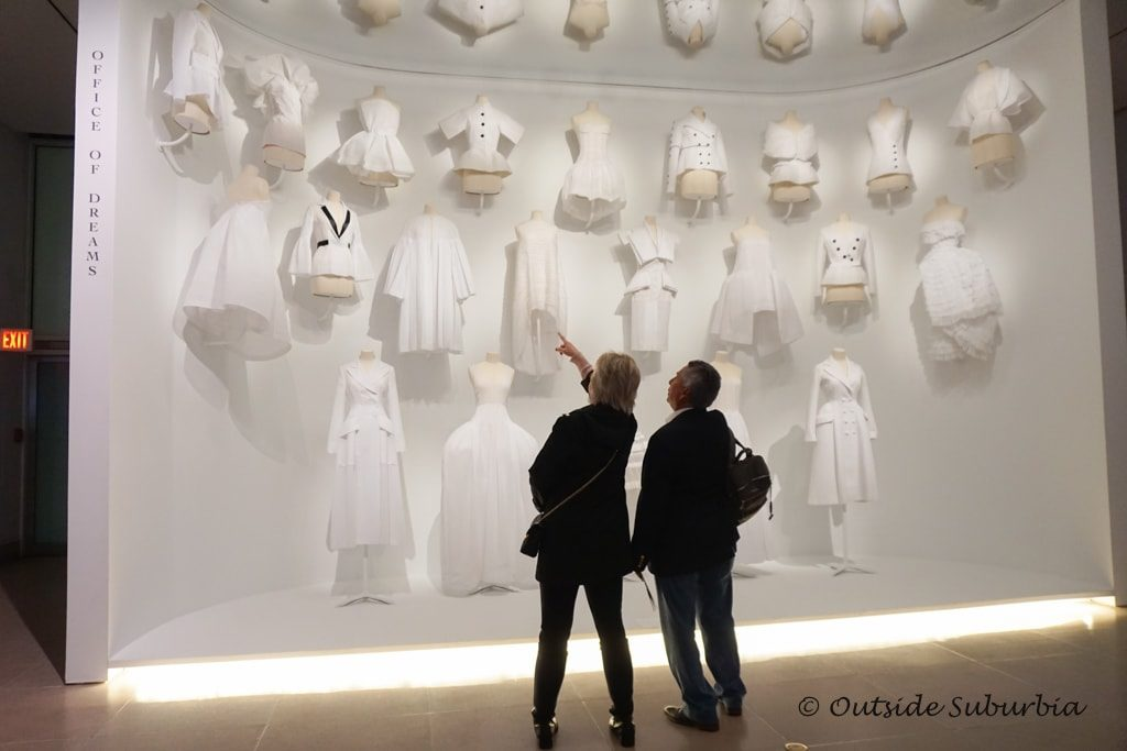 Toiles, muslin mock-ups of the Dior dresses - Dior Dresses at the Dallas Museum of Art