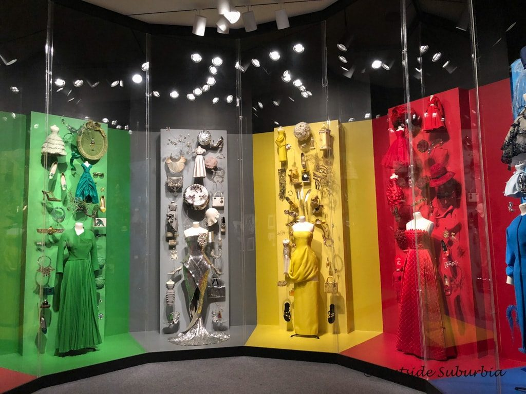 Dior Dresses at the Dallas Museum of Art