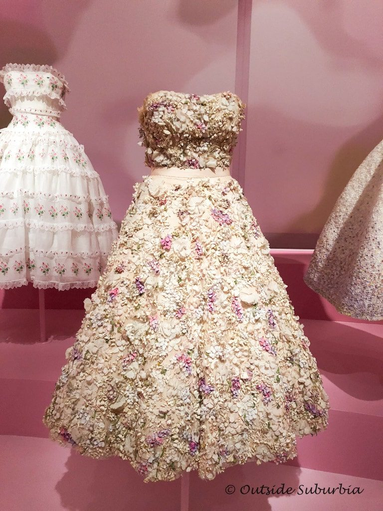 The iconic Miss Dior Dress