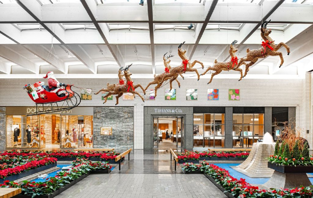 NorthPark Center has the best Christmas decorations, a huge gingerbread house and a Holiday Trains Display | Outside Suburbia