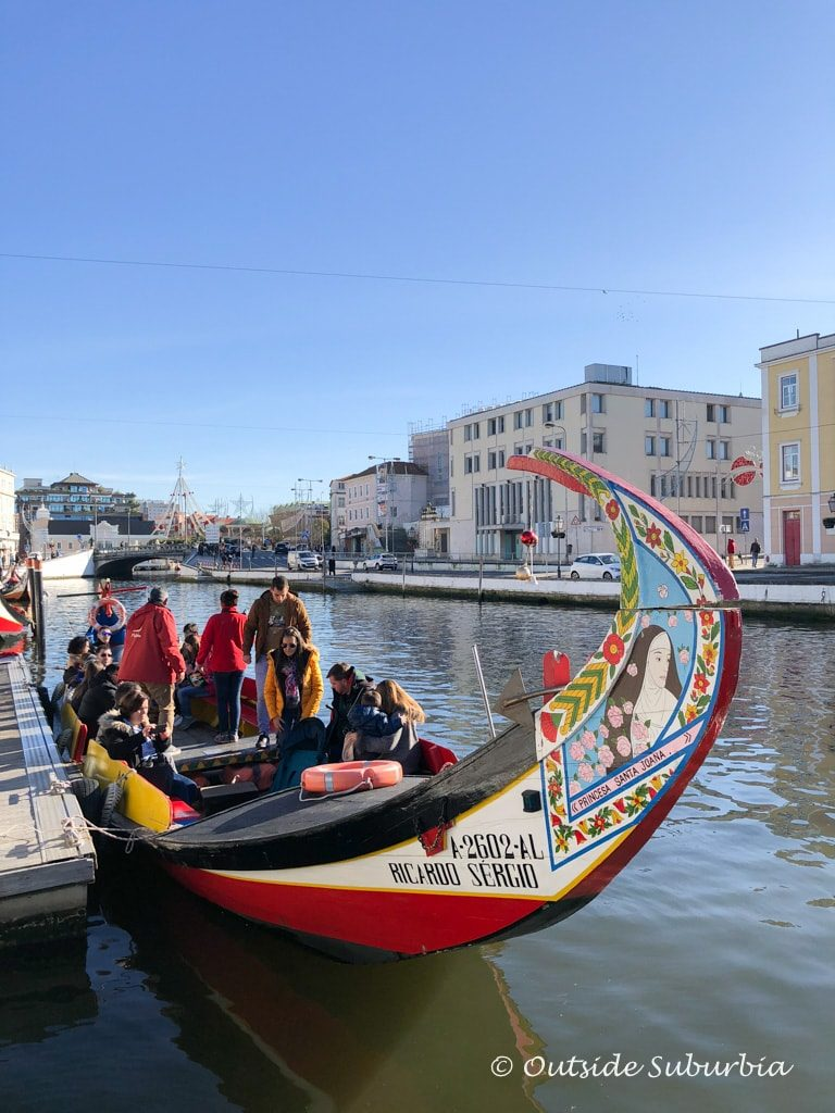 Canal cruises in Aveiro