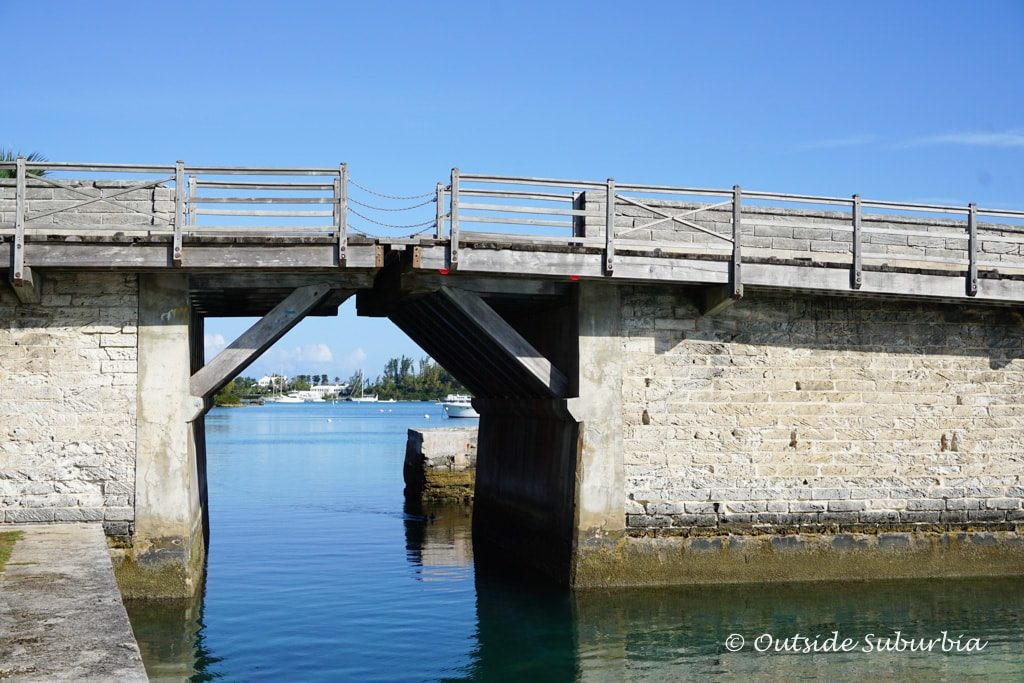 Smallest bridge in the world is at Sandys in Bermuda