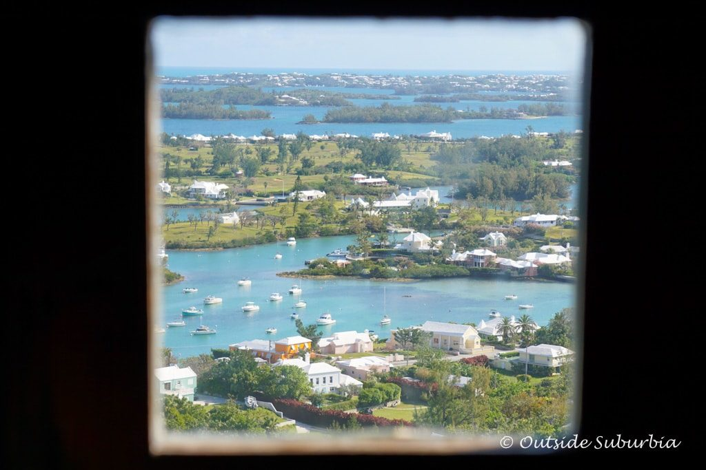 View from Gibb's Hill Lighthouse