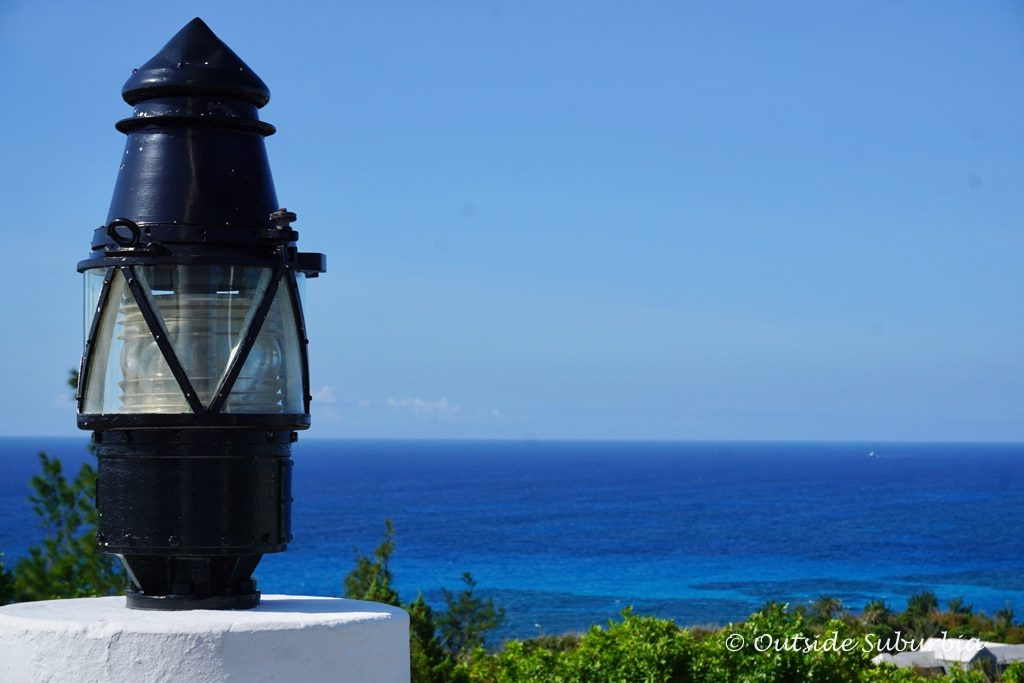 View of the Atlantic from the Gibb's Hill Light House, Bermuda
